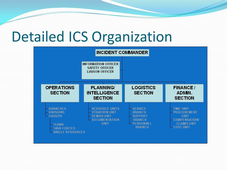 Detailed ICS Organization