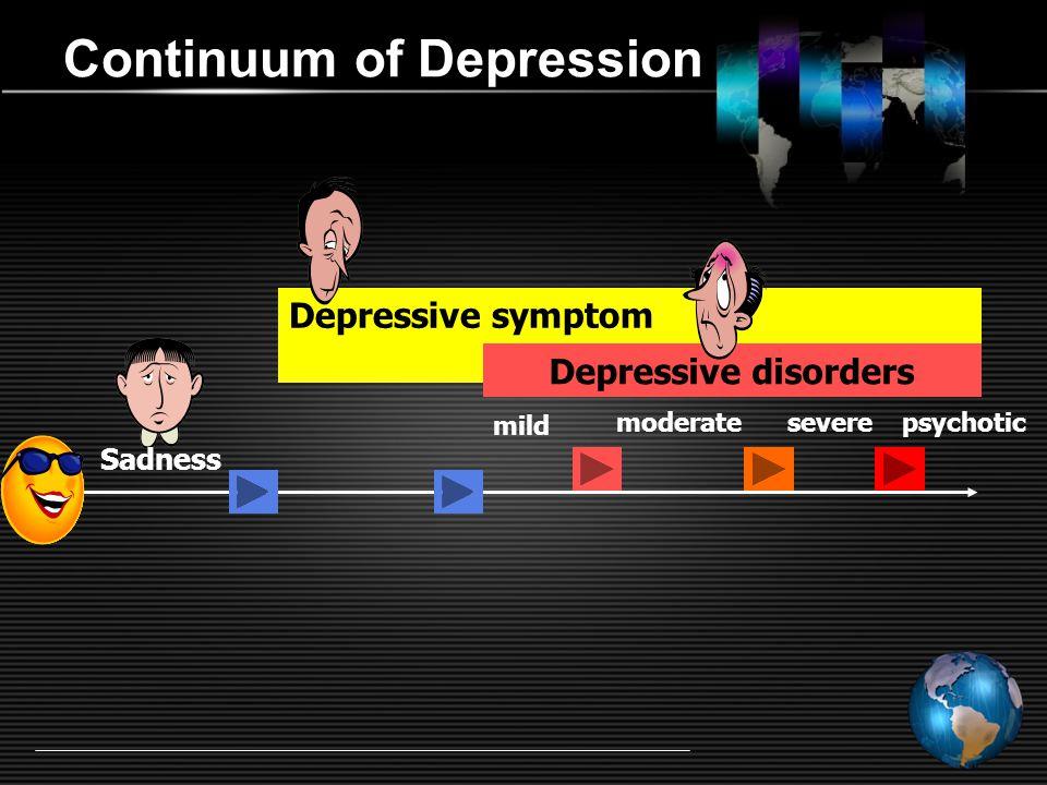 Continuum of Depression
