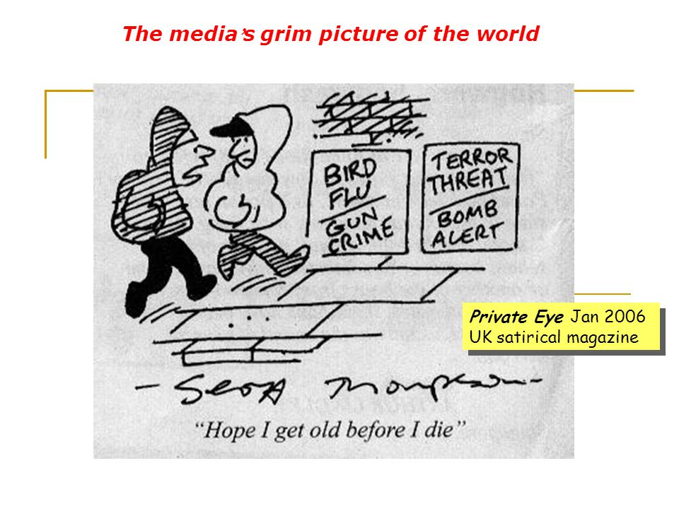 The media's grim picture of the world