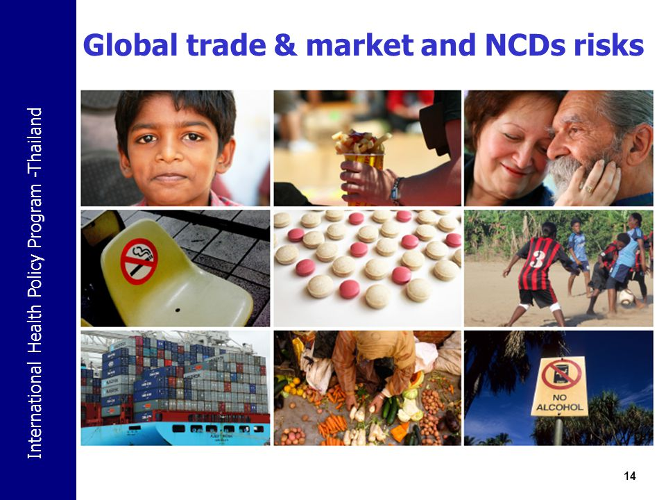 Global trade & market and NCDs risks