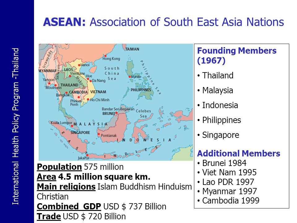 ASEAN: Association of South East Asia Nations