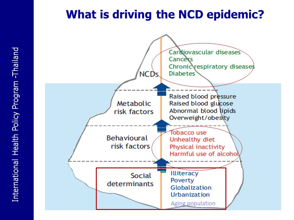 What is driving the NCD epidemic