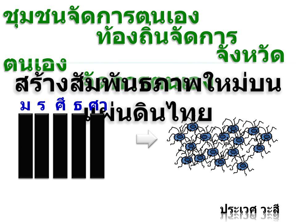 สร้างสัมพันธภาพใหม่บนแผ่นดินไทย