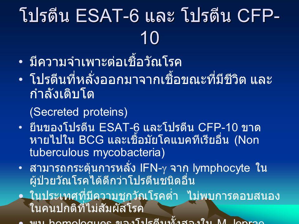 โปรตีน ESAT-6 และ โปรตีน CFP-10