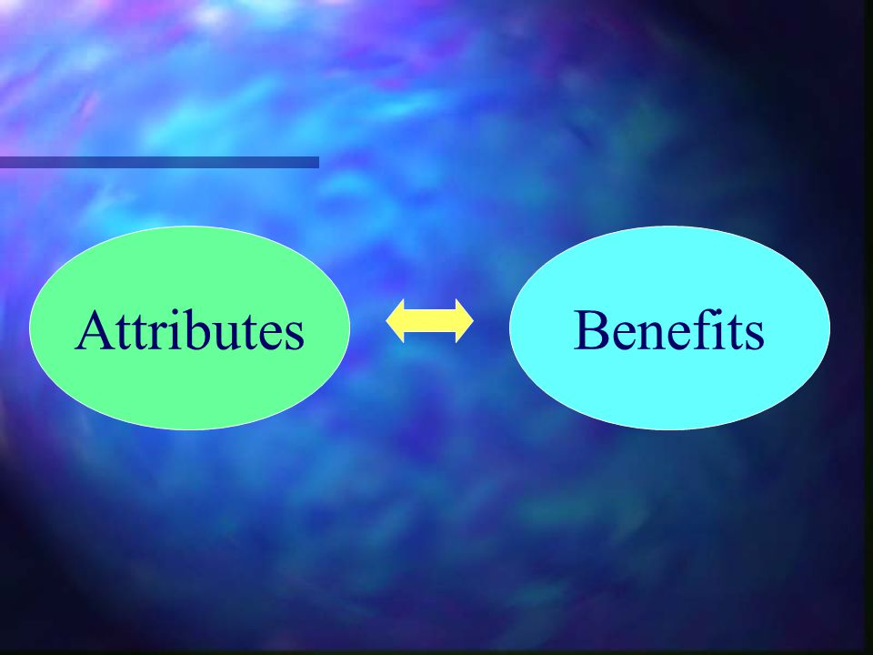 Attributes Benefits