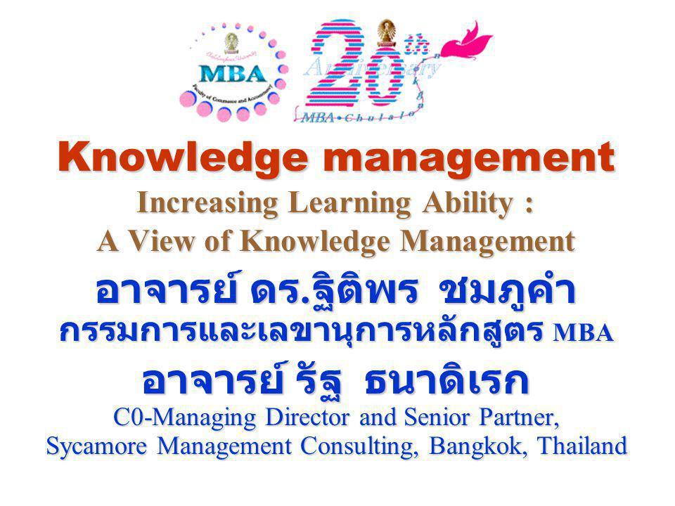 อาจารย์ ดร.ฐิติพร ชมภูคำ กรรมการและเลขานุการหลักสูตร MBA