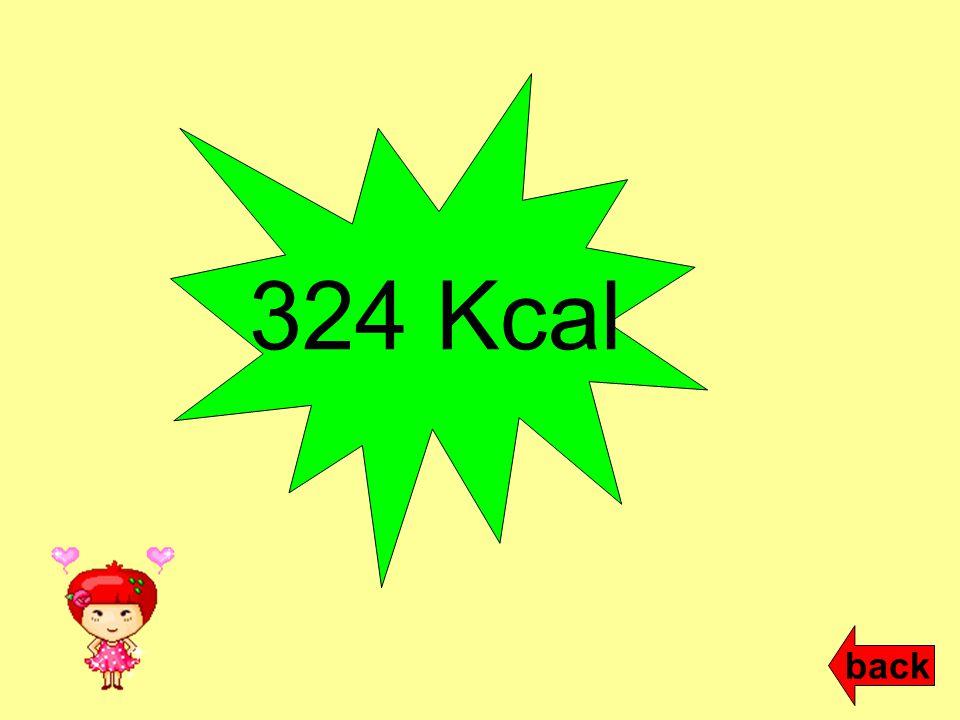 324 Kcal back