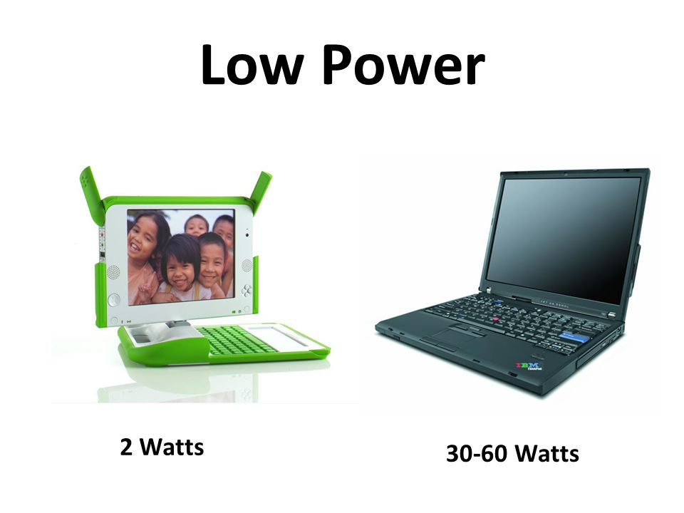Low Power 2 Watts 30-60 Watts