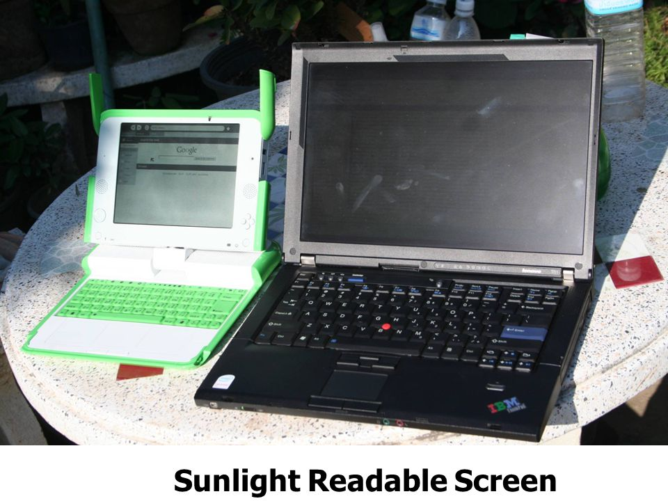 Sunlight Readable Screen