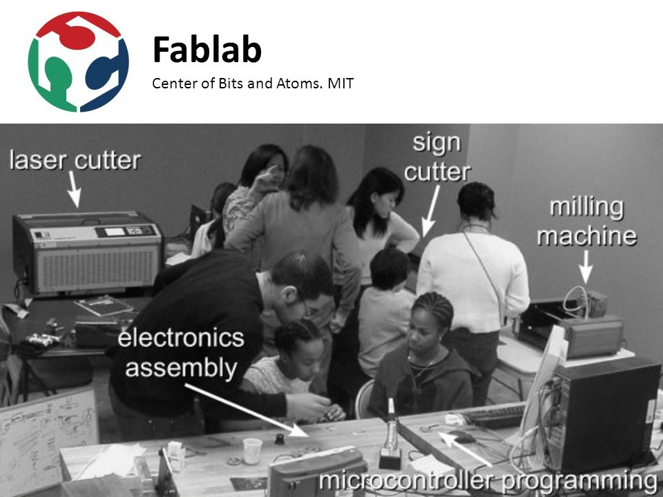 Fablab Center of Bits and Atoms. MIT
