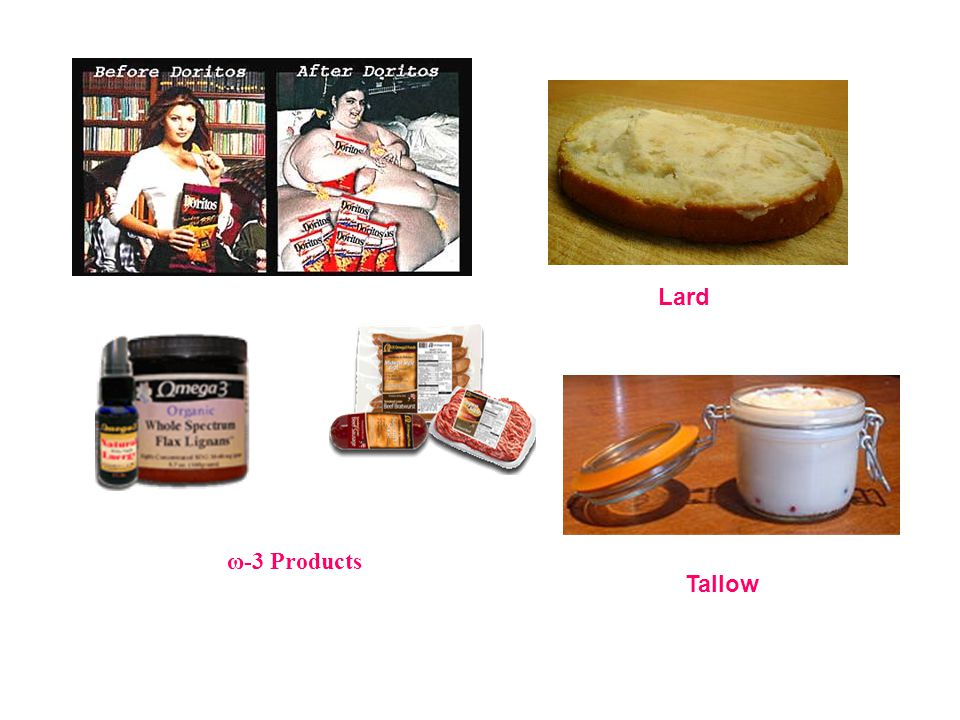 Lard ω-3 Products Tallow