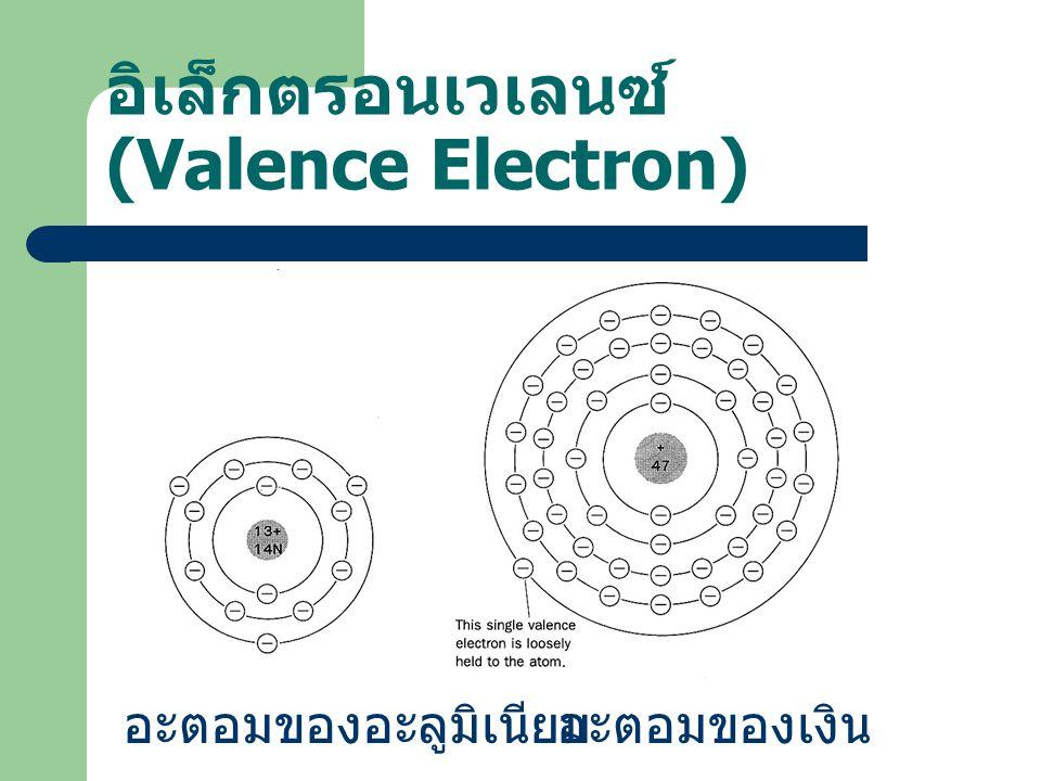 อิเล็กตรอนเวเลนซ์ (Valence Electron)