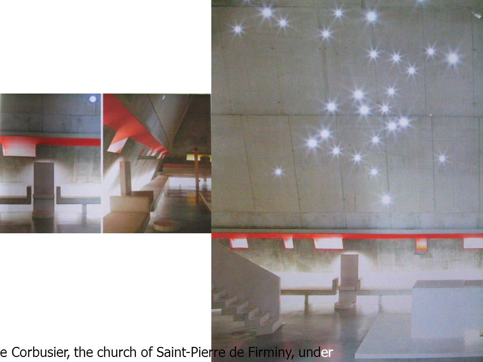 Le Corbusier, the church of Saint-Pierre de Firminy, under supervision of Jose Oubrerie, 2005