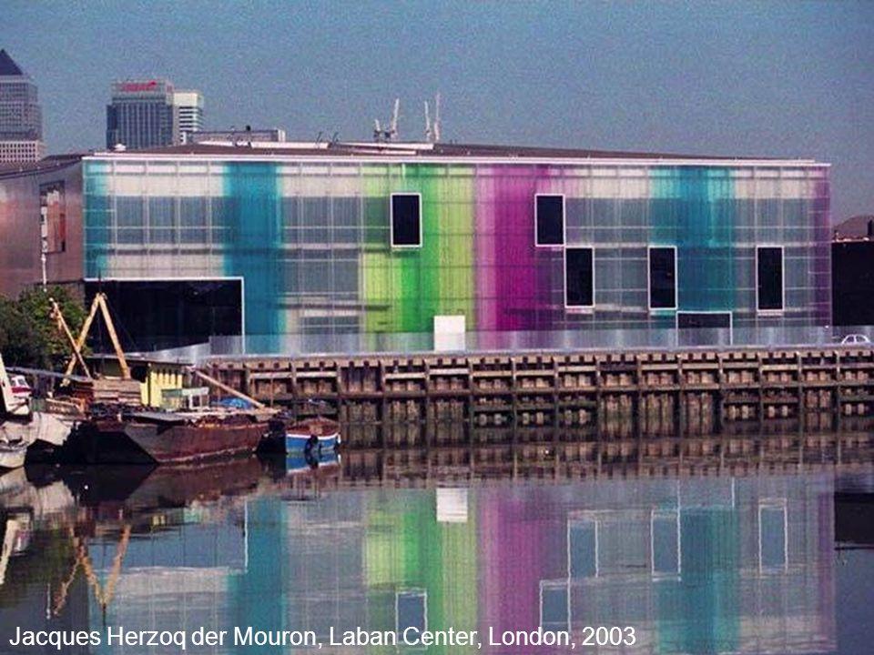 Jacques Herzoq der Mouron, Laban Center, London, 2003
