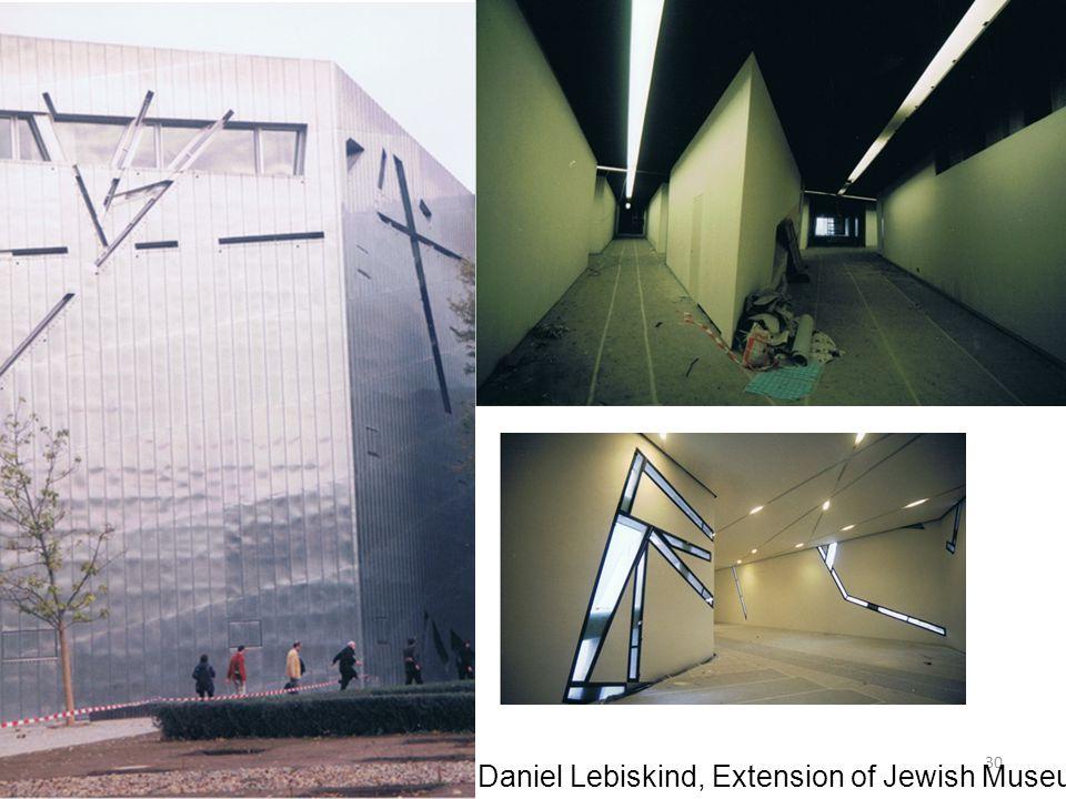 Daniel Lebiskind, Extension of Jewish Museum, Berlin, 1998