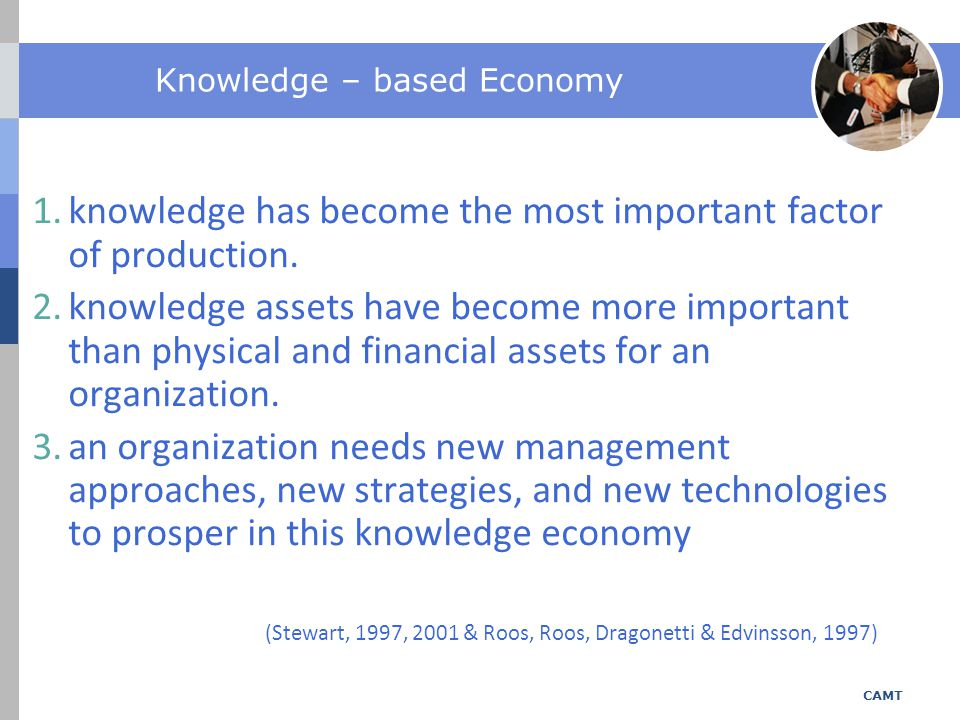 Knowledge – based Economy