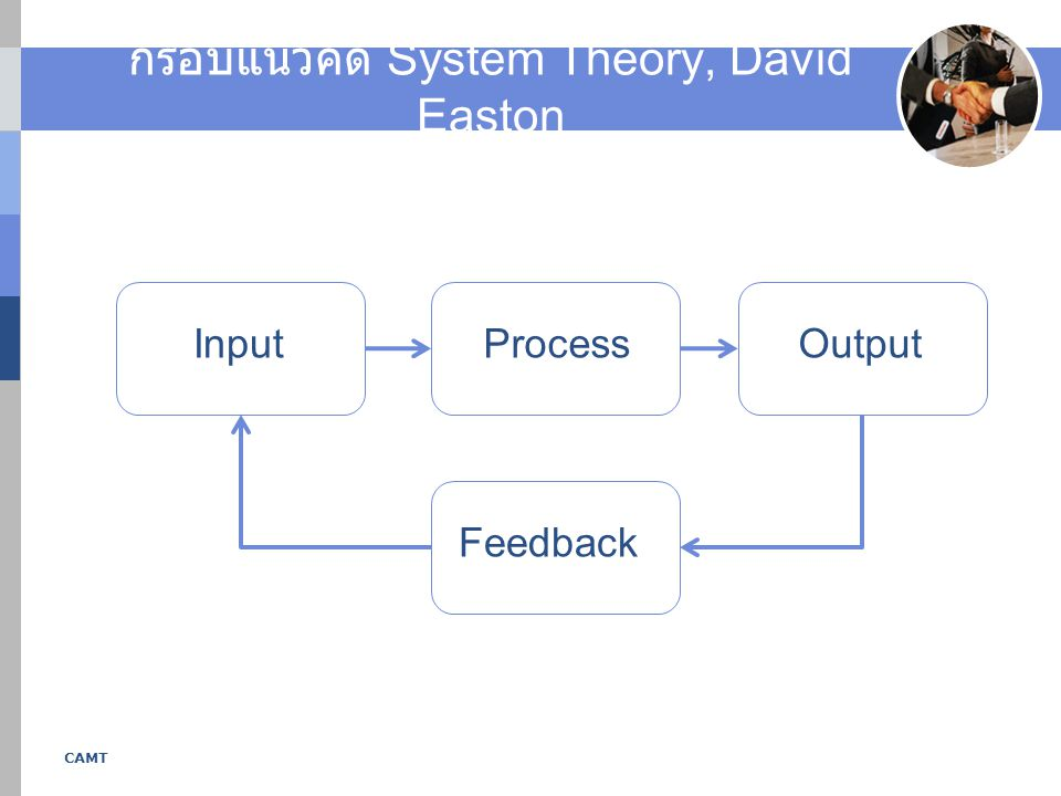 กรอบแนวคิด System Theory, David Easton