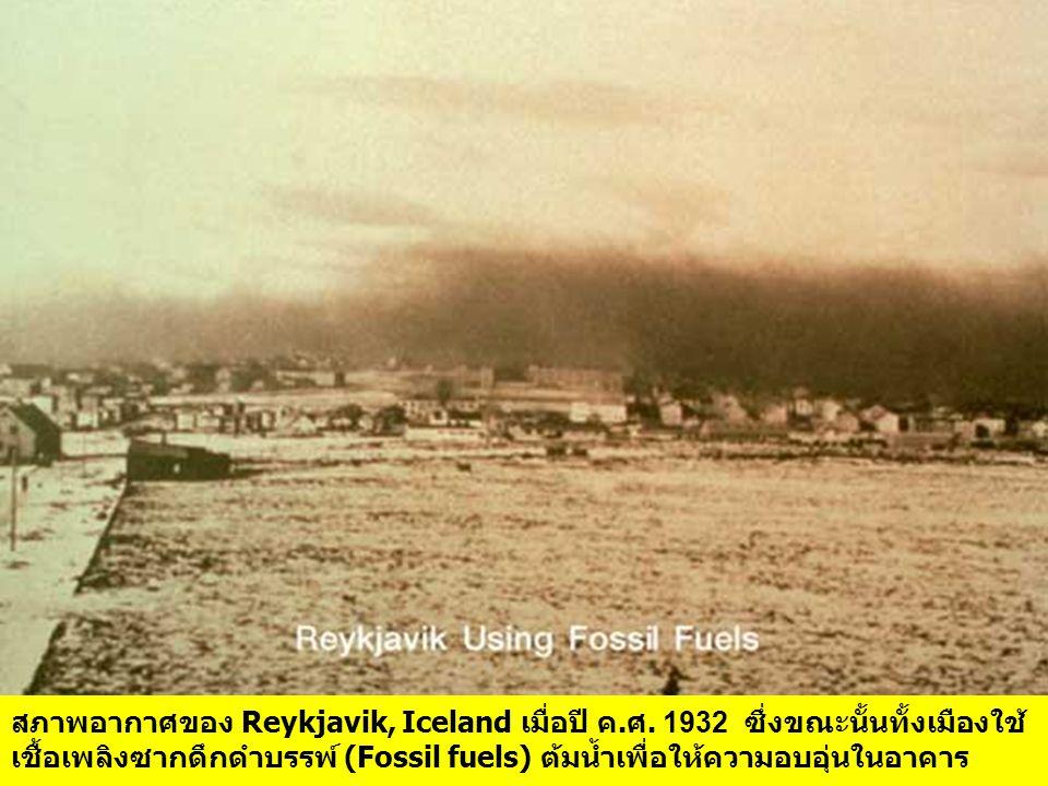 สภาพอากาศของ Reykjavik, Iceland เมื่อปี ค. ศ