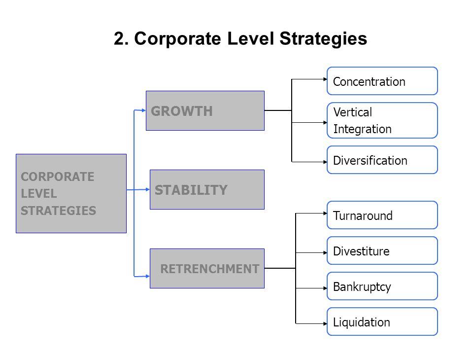 2. Corporate Level Strategies