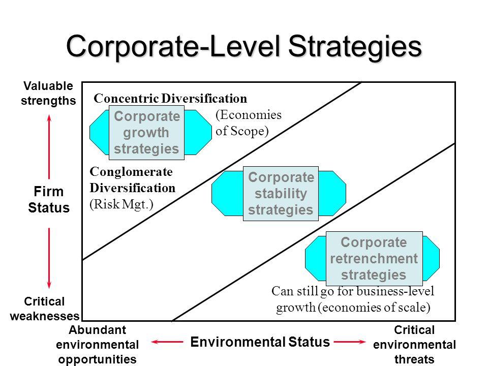 Corporate-Level Strategies