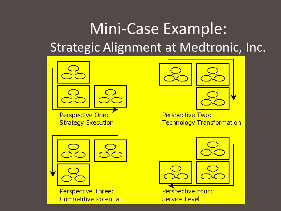 Mini-Case Example: Strategic Alignment at Medtronic, Inc.