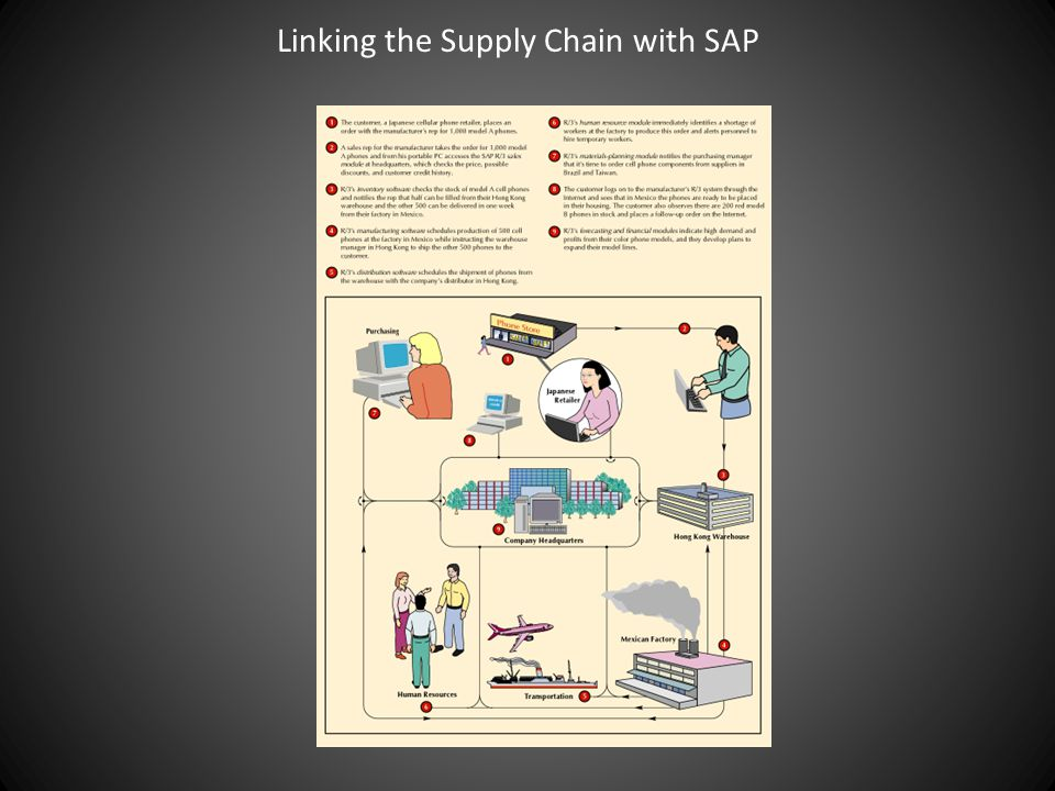 Linking the Supply Chain with SAP