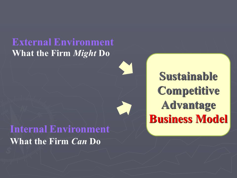 Sustainable Competitive Advantage Business Model