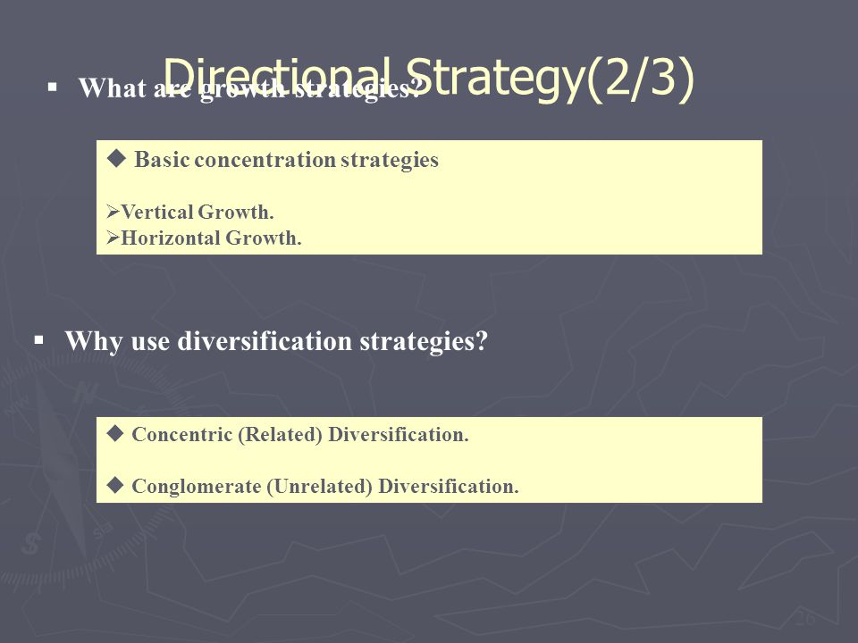 Directional Strategy(2/3)