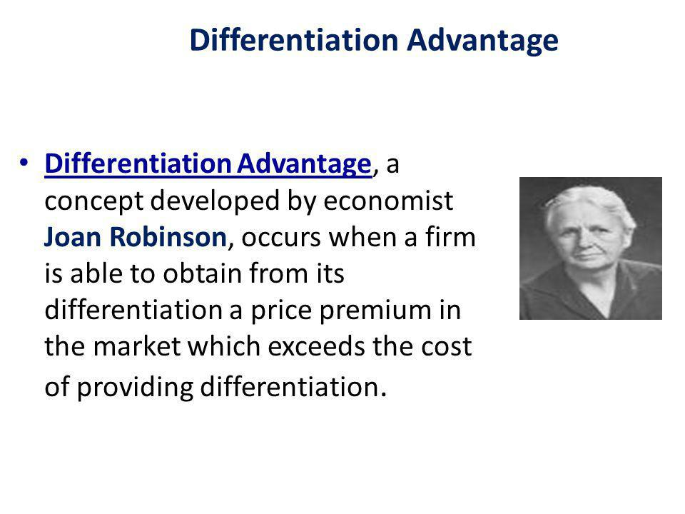Differentiation Advantage