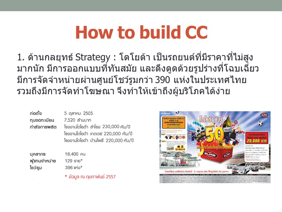 How to build CC