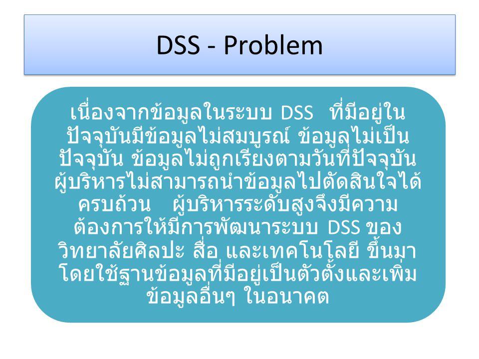 DSS - Problem