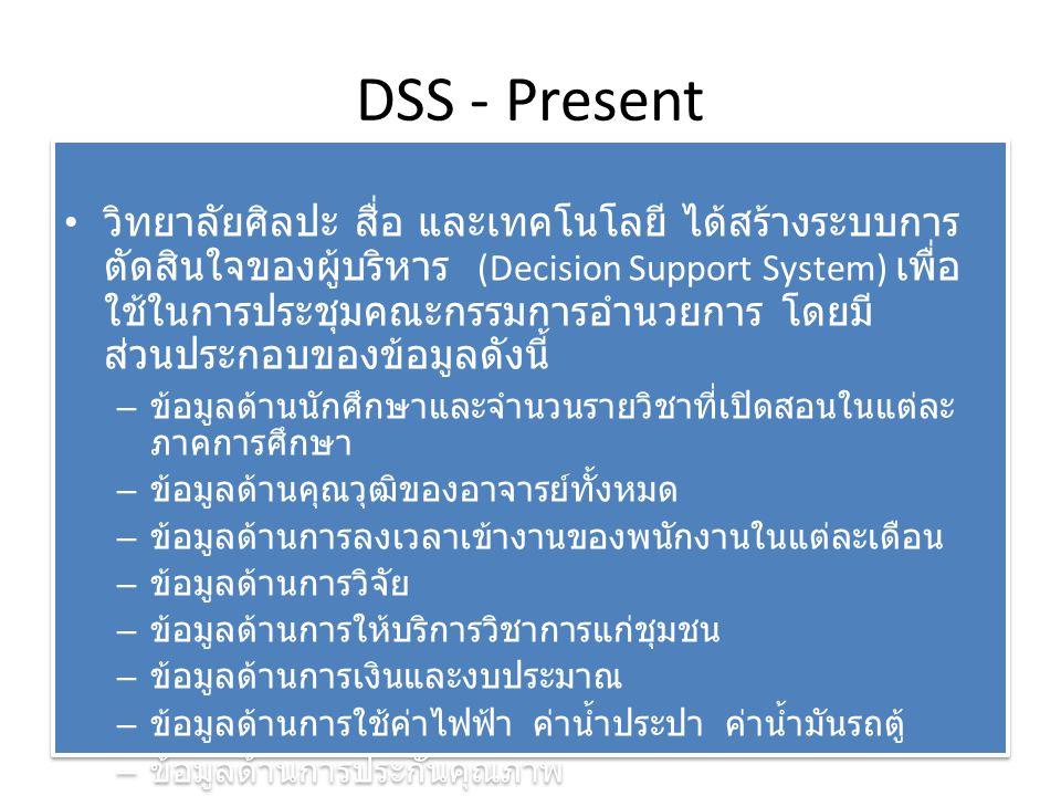 DSS - Present