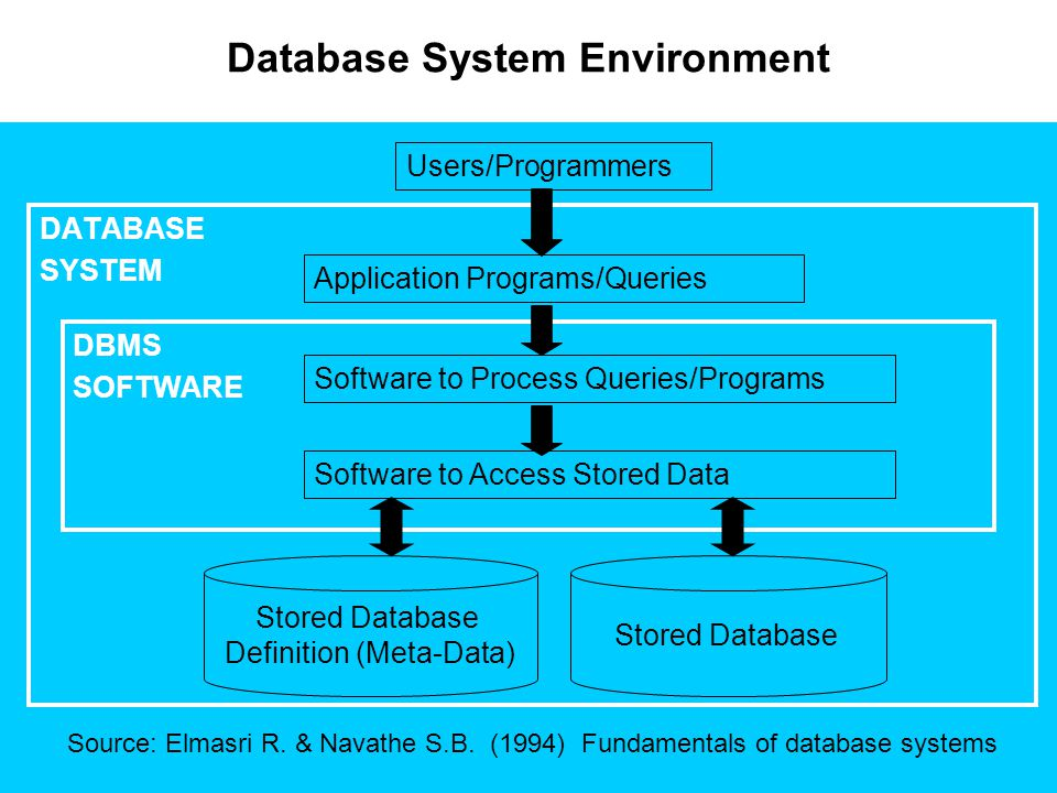Database System Environment