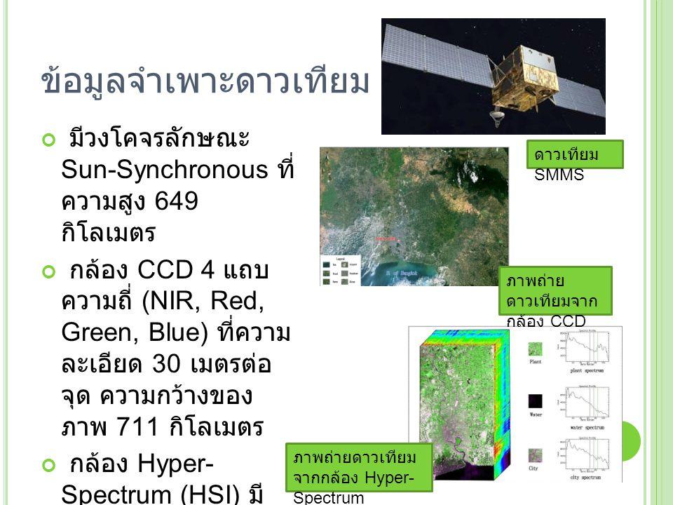 ข้อมูลจำเพาะดาวเทียม SMMS