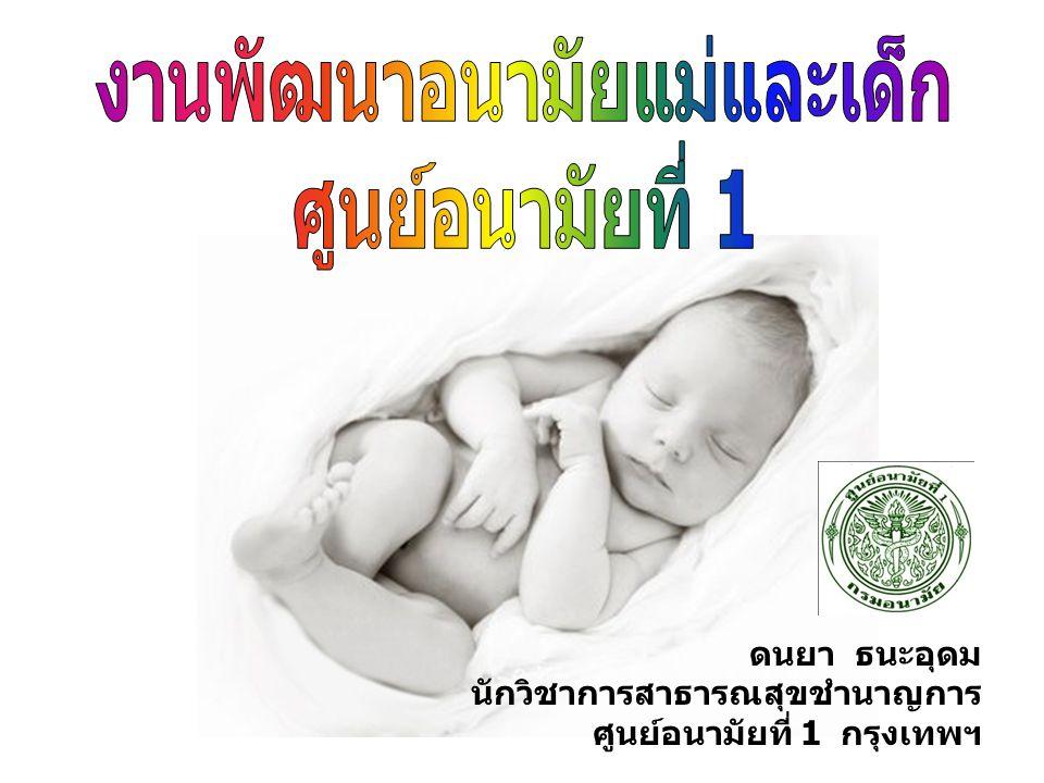 งานพัฒนาอนามัยแม่และเด็ก