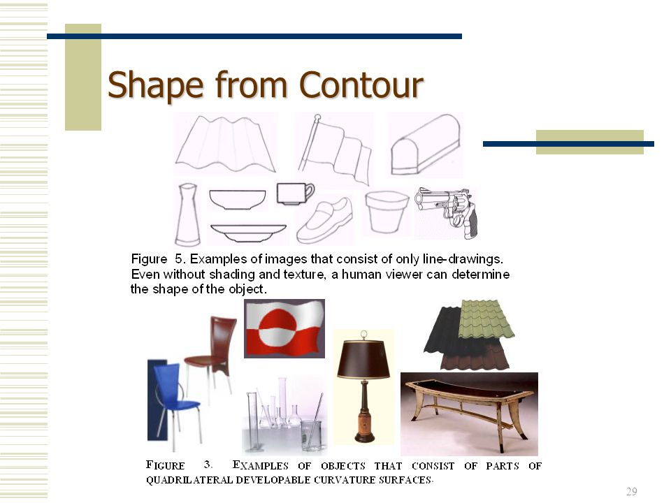 Shape from Contour