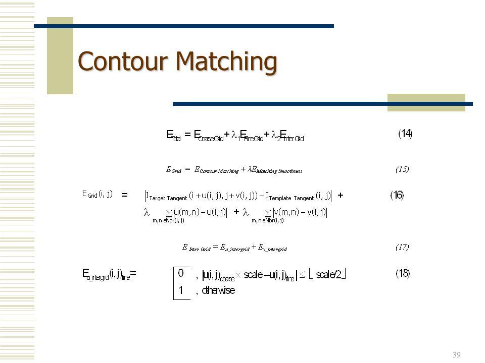 Contour Matching
