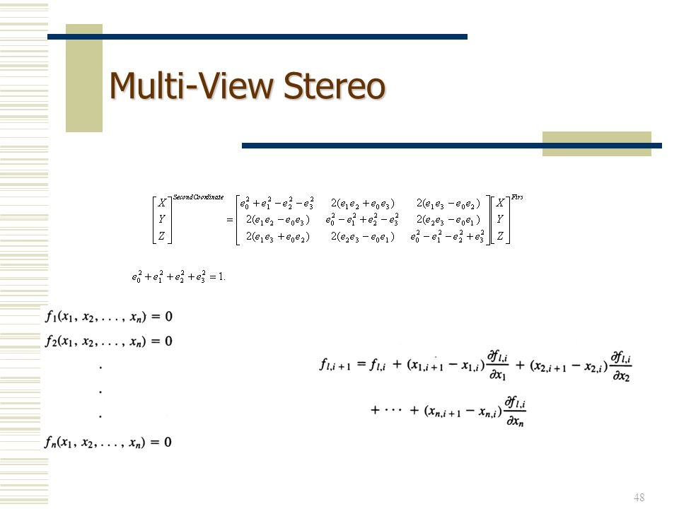 Multi-View Stereo