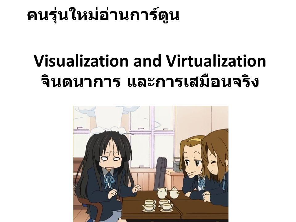 Visualization and Virtualization จินตนาการ และการเสมือนจริง