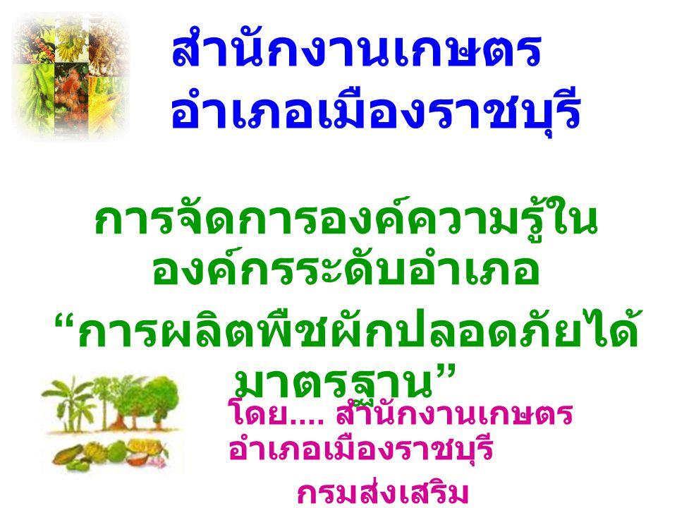 สำนักงานเกษตรอำเภอเมืองราชบุรี