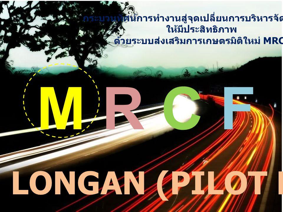 M R C F LONGAN (PILOT PROJECT)
