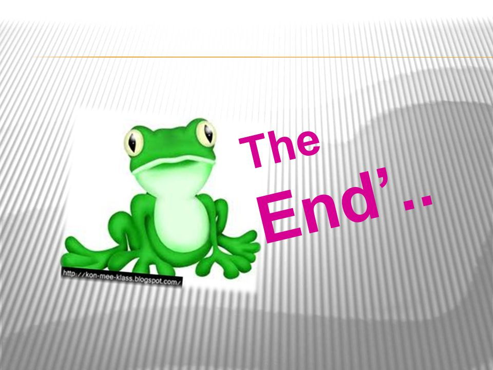 The End'..