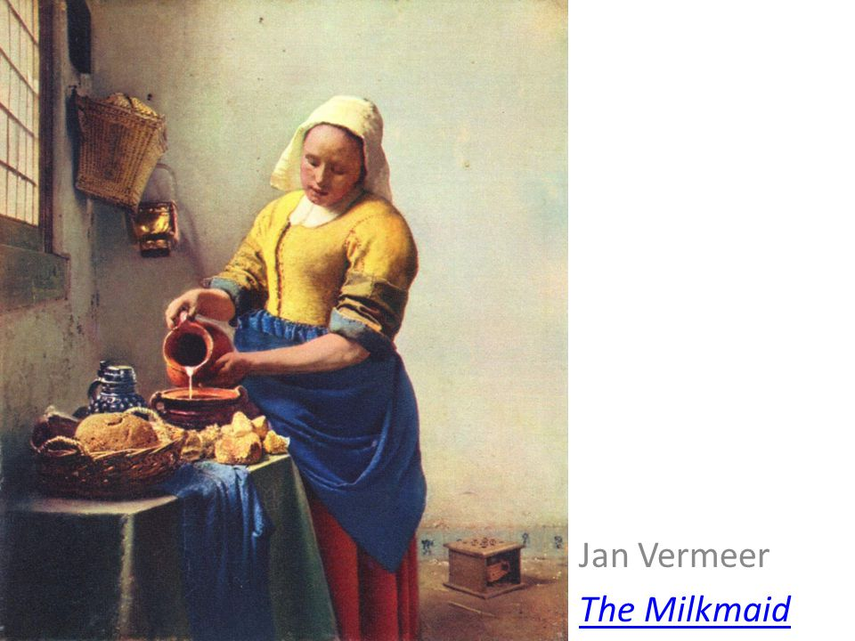 Jan Vermeer The Milkmaid