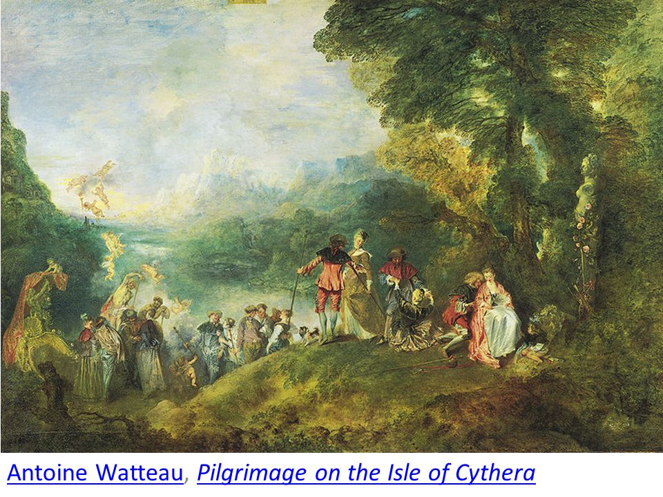 Antoine Watteau, Pilgrimage on the Isle of Cythera