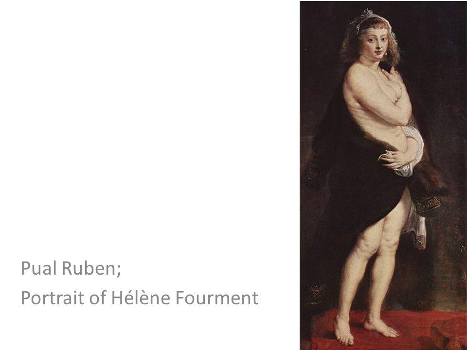 Pual Ruben; Portrait of Hélène Fourment