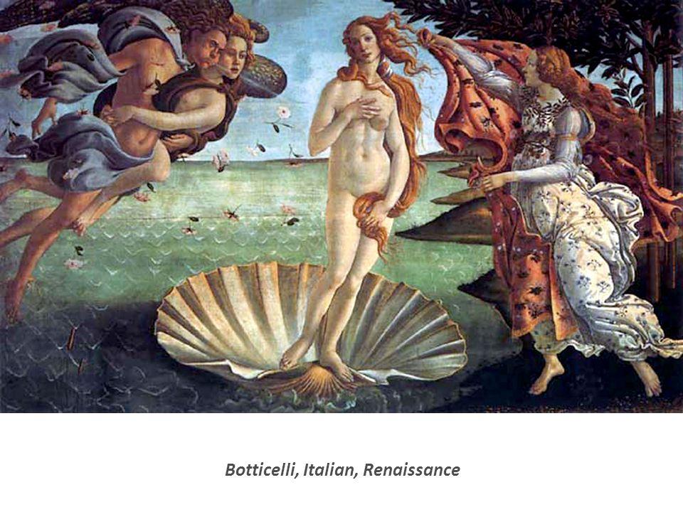 Botticelli, Italian, Renaissance