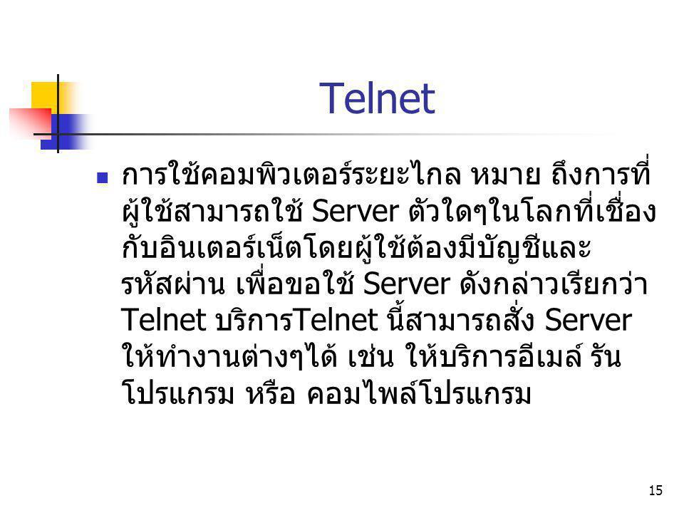 Telnet