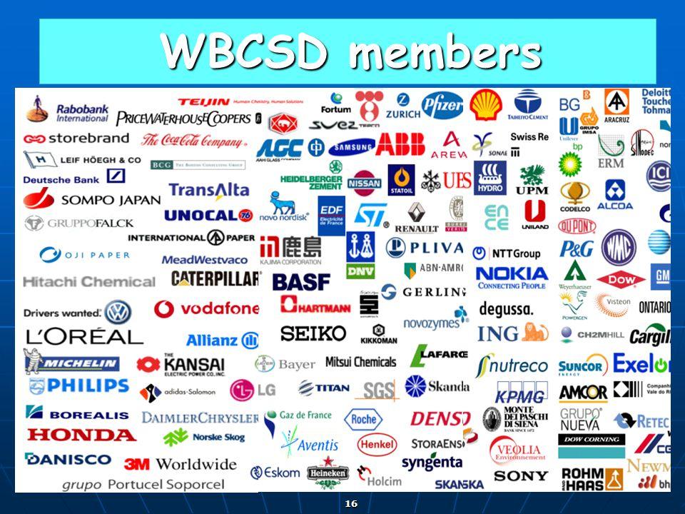 WBCSD members