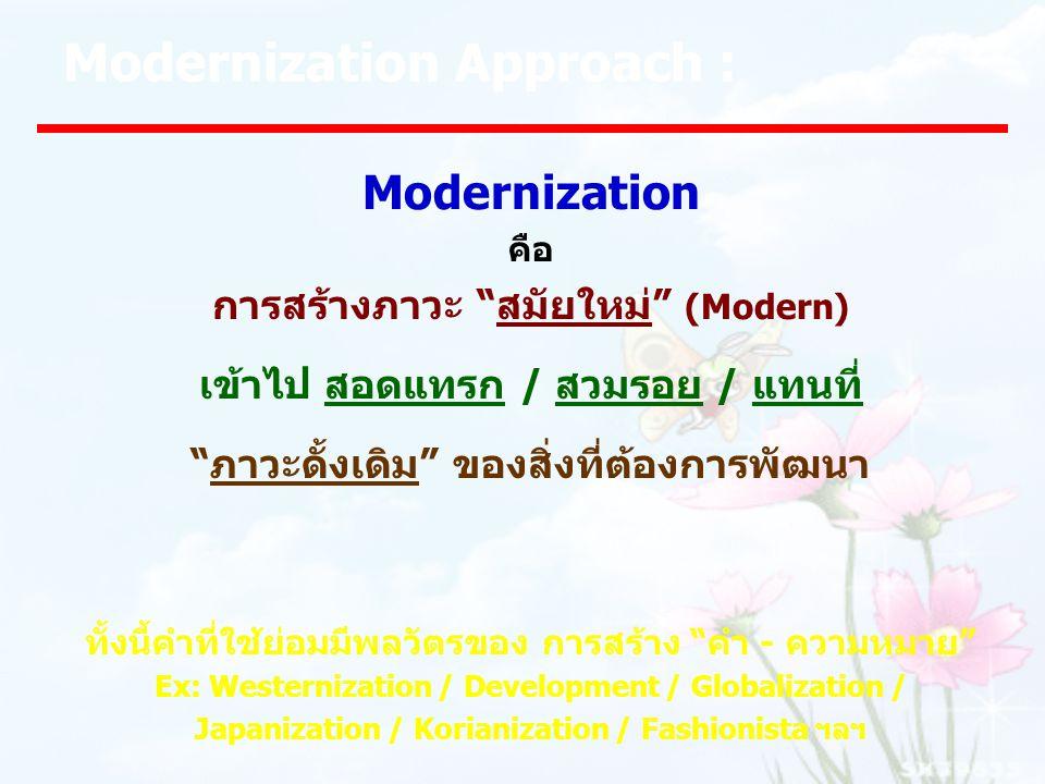 Modernization Approach :