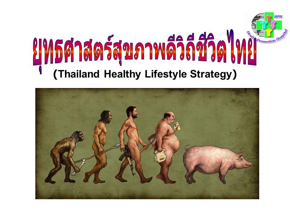ยุทธศาสตร์สุขภาพดีวิถีชีวิตไทย (Thailand Healthy Lifestyle Strategy)